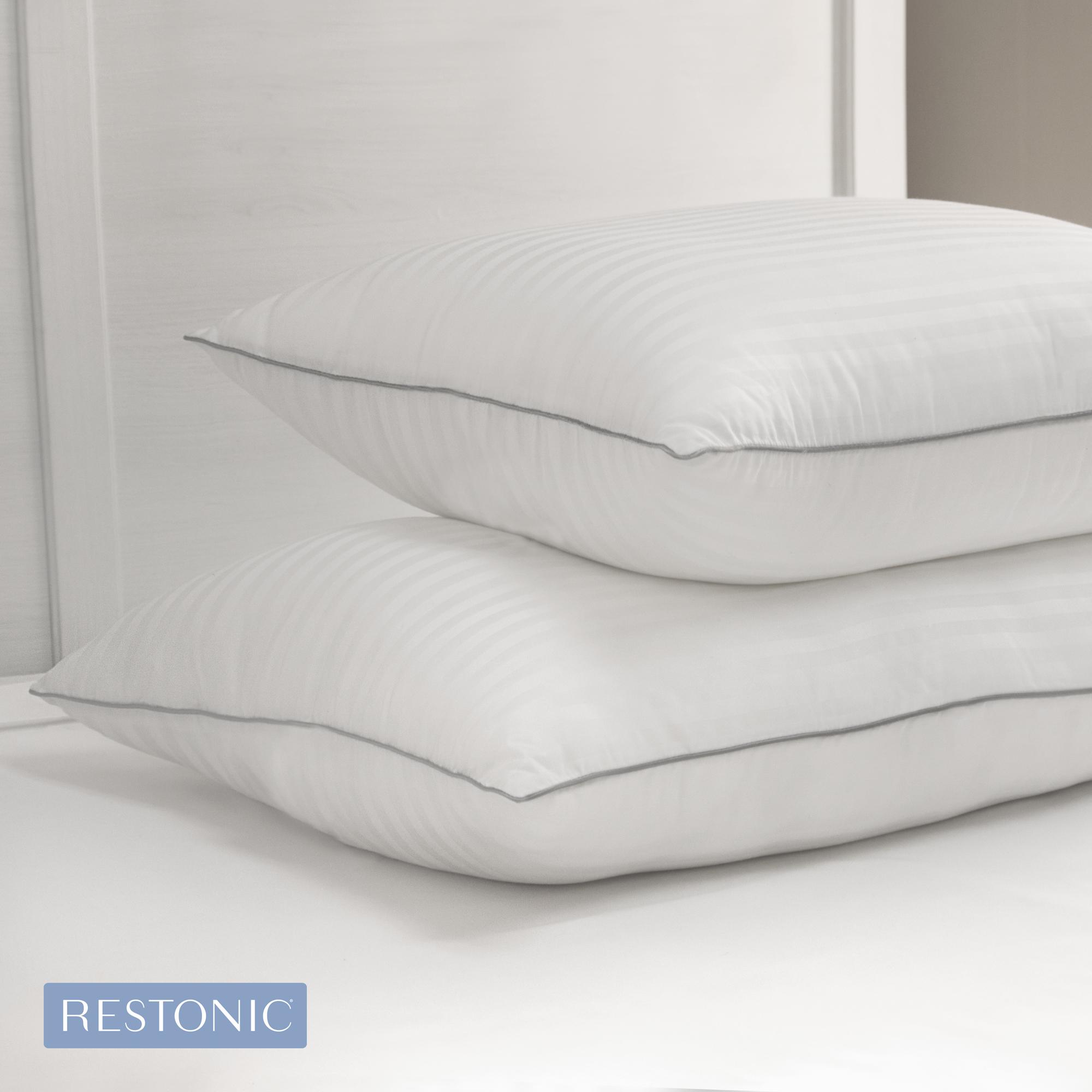 Sensorpedic Memory Fiber Pillow With 500 Thread Count
