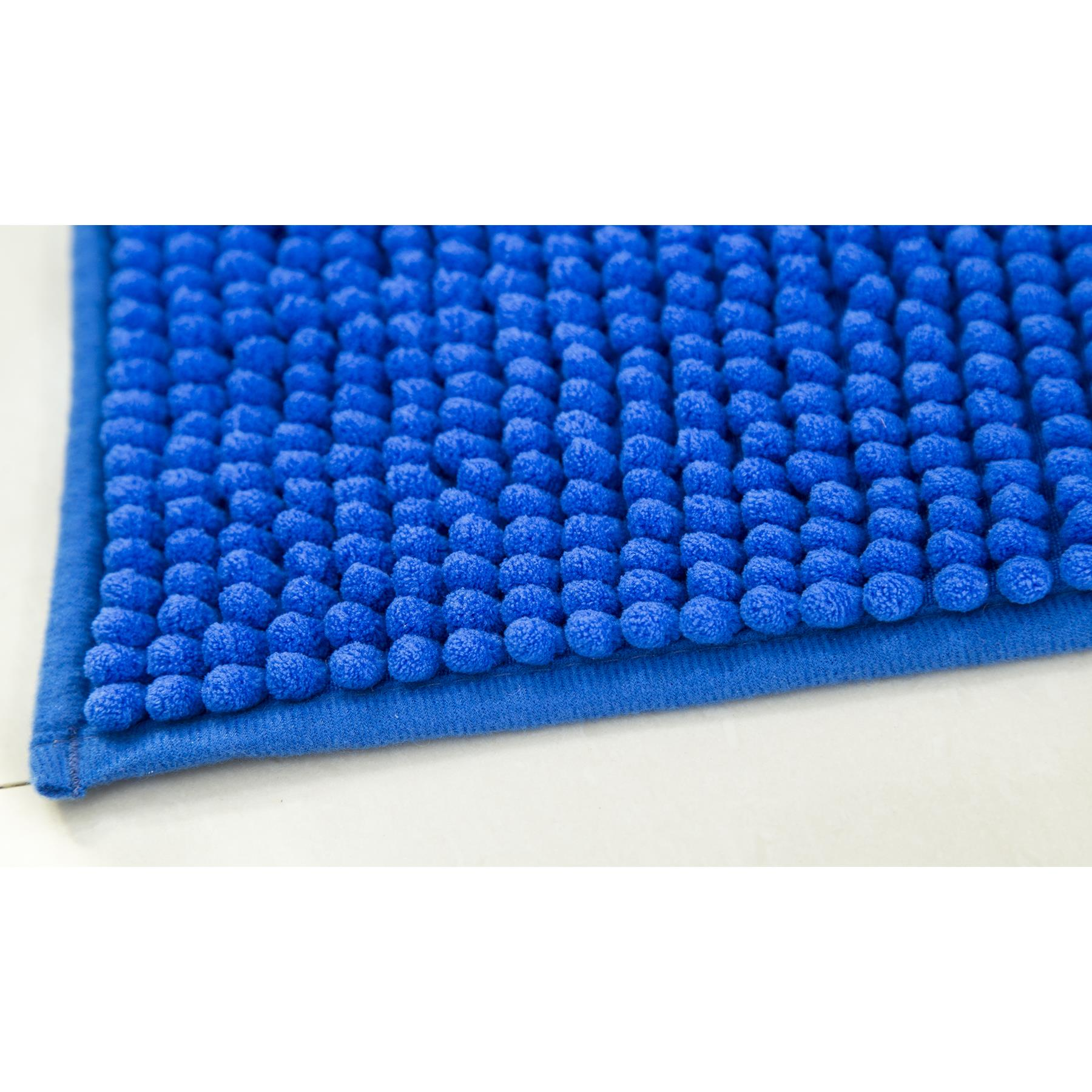 Taupe RT Designers Collection Kara Short Pile Chenille Bath Mat Set 17 x 24