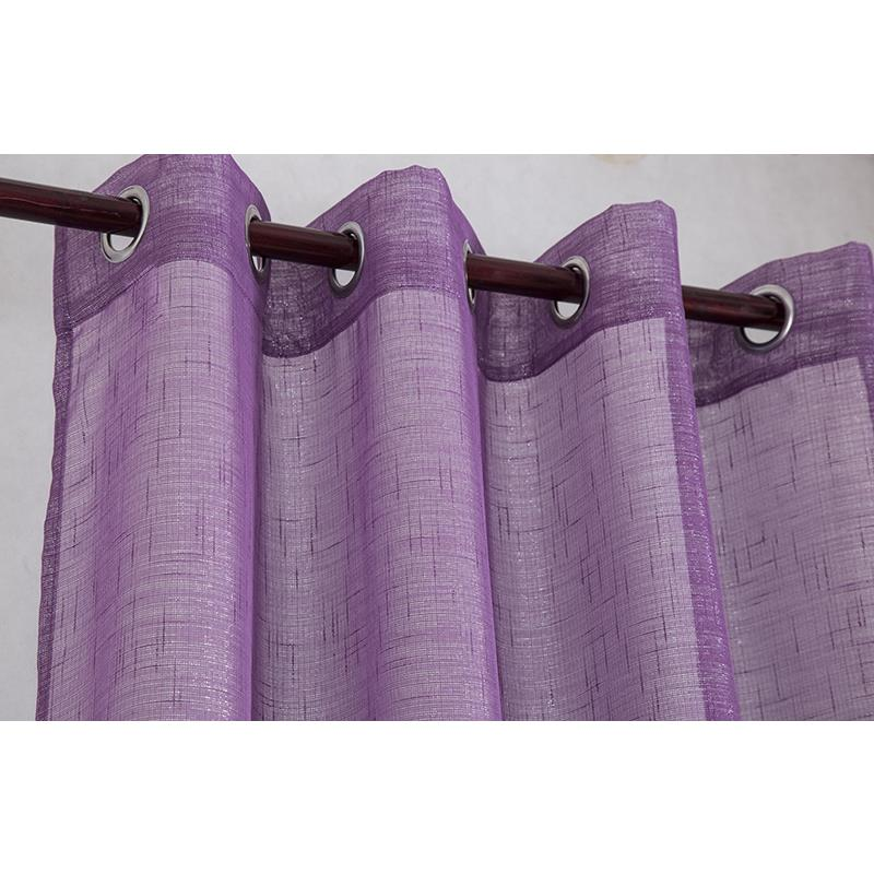 Sparkle Woven 54 X 90 In Lurex Grommet Top Curtain Panel