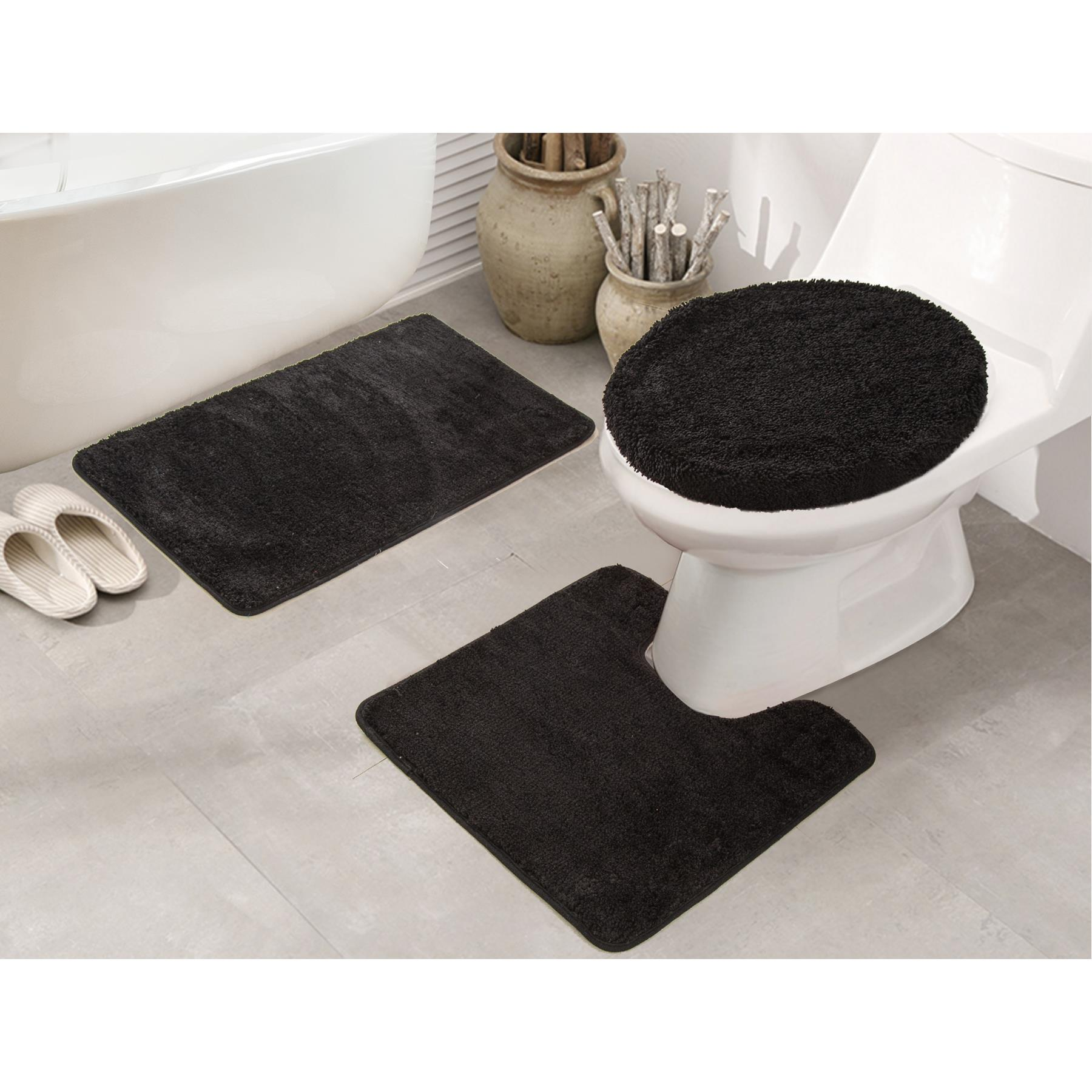 Rt Designers Collection Royalty 3 Piece Rug Set Bath Contour
