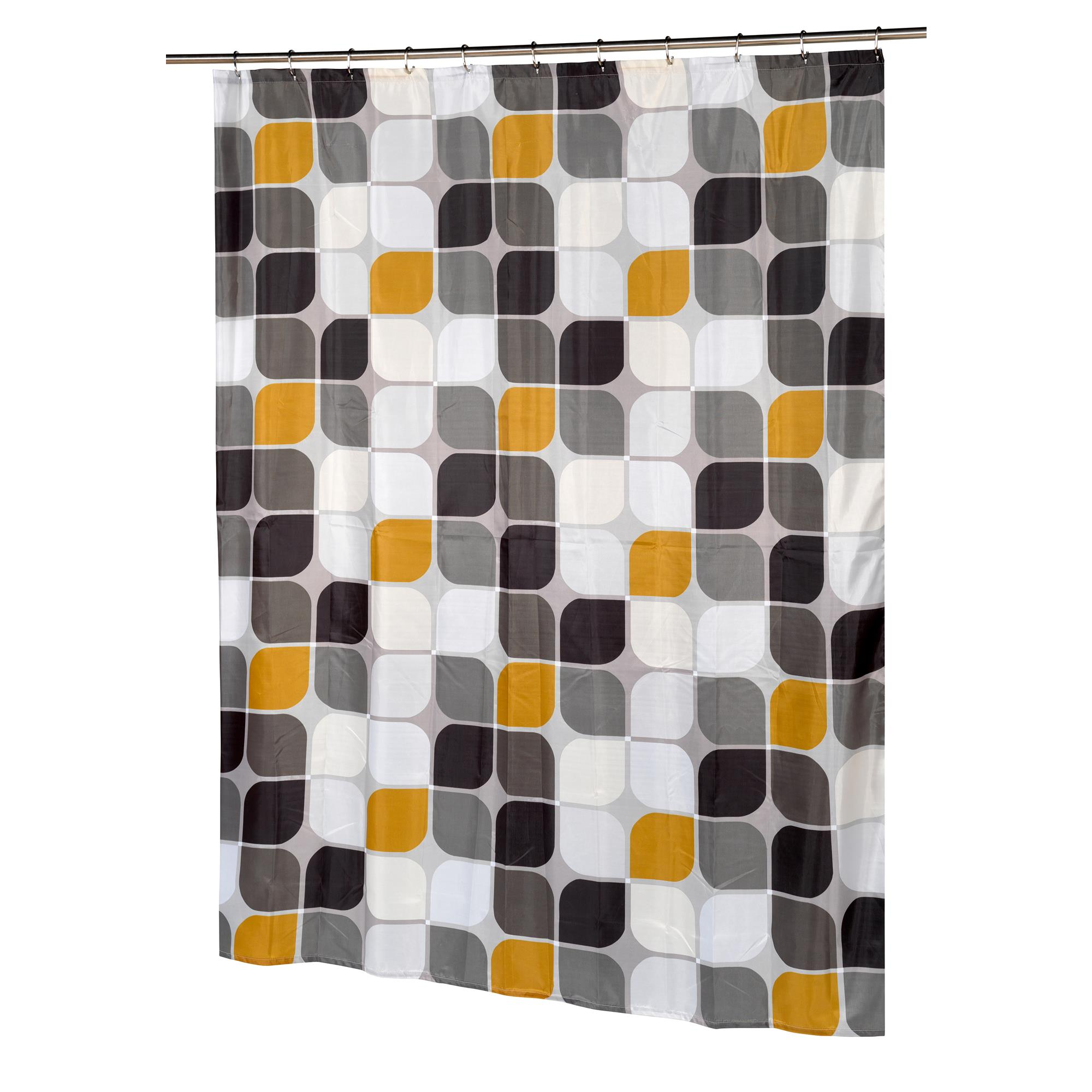 Carnation Home Metro Stall Size Fabric Shower Curtain 71821103515
