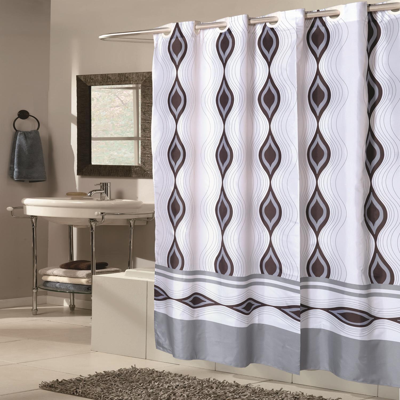 Carnation Home Shower Stall Sized EZ ONR Harlequin Polyester